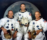 NASA Apollo 11 Official Crew Photograph #2